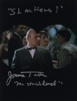"""James Tolkan Signed """"Back to the Future"""" 11x14 Photo Inscribed """"Slackers!"""" & """"Mr. Strickland"""" (AutographCOA Hologram) at PristineAuction.com"""