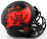 Devin White Signed Buccaneers Eclipse Alternate Speed Mini Helmet (Beckett COA) at PristineAuction.com