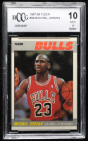 Michael Jordan 1987-88 Fleer #59 (BCCG 10) at PristineAuction.com