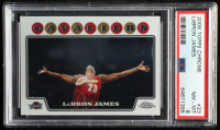 LeBron James 2008-09 Topps #23 (PSA 8) at PristineAuction.com