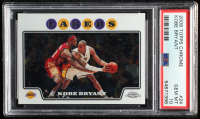 Kobe Bryant 2008-09 Topps Chrome #24 (PSA 10) at PristineAuction.com