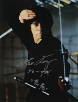 "Sho Kosugi Signed ""Revenge of the Ninja"" 11x14 Photo with Inscriptions (AutographCOA Hologram) at PristineAuction.com"