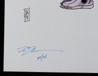 "Tom Hodges - Boba Fett - ""Star Wars: The Empire Strikes Back"" - Signed 11"" x 17"" Print LE #/25 (PA COA) at PristineAuction.com"