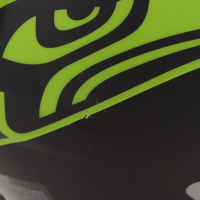 """DK Metcalf Signed Seahawks Full-Size Authentic On-Field Eclipse Alternate Speed Helmet Inscribed """"Wolverine"""" (Beckett COA) (See Description) at PristineAuction.com"""
