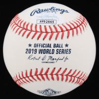 Juan Soto Signed 2019 World Series Baseball (JSA COA) at PristineAuction.com