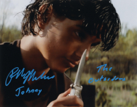 """Ralph Macchio Signed """"The Outsiders"""" 11x14 Photo Inscribed """"Johnny"""" & """"The Outsiders"""" (AutographCOA Hologram) at PristineAuction.com"""