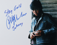 """Ralph Macchio Signed """"The Outsiders"""" 11x14 Photo Inscribed """"Stay Gold"""" & """"Johnny"""" (AutographCOA Hologram) at PristineAuction.com"""