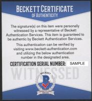 Mark McGwire & Sammy Sosa Signed 16x20 Photo (Beckett COA) at PristineAuction.com