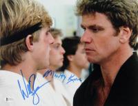"William Zabka & Martin Kove Signed ""The Karate Kid"" 11x20 Photo (Beckett COA) at PristineAuction.com"