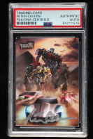 Peter Cullen Signed 2009 Topps Transformers #4 (PSA Encapsulated) at PristineAuction.com