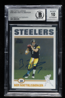 Ben Roethlisberger Signed 2004 Topps Chrome #166 RC (BGS Encapsulated) at PristineAuction.com