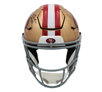 Jerry Rice Signed 49ers Full-Size Authentic On-Field Speed Flex Helmet (Fanatics Hologram) at PristineAuction.com