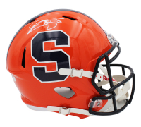 Donovan McNabb Signed Syracuse Orange Full-Size Speed Helmet (Radtke COA) at PristineAuction.com