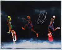 Nate Robinson Signed Knicks 16x20 Photo (Beckett COA) at PristineAuction.com