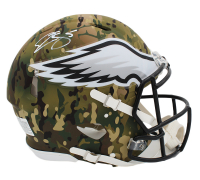 Donovan McNabb Signed Eagles Full-Size Authentic On-Field Camo Alternate Speed Helmet (Radtke COA) at PristineAuction.com