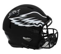 Donovan McNabb Signed Eagles Full-Size Authentic On-Field Eclipse Alternate Speed Helmet (Radtke COA) at PristineAuction.com
