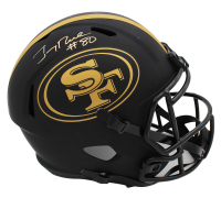 Jerry Rice Signed 49ers Full-Size Eclipse Alternate Speed Helmet (Fanatics Hologram) at PristineAuction.com