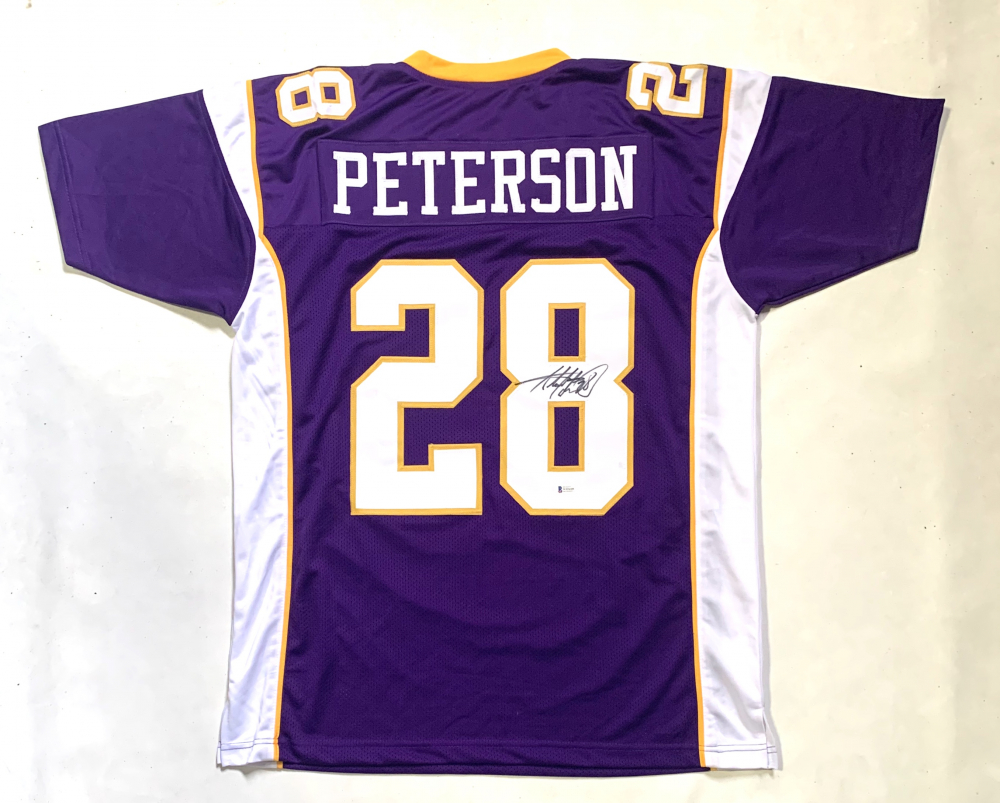 Adrian Peterson Signed Jersey (Beckett COA) | Pristine Auction