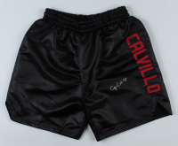 Cynthia Calvillo Signed Boxing Shorts (PSA COA) at PristineAuction.com