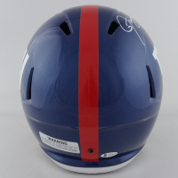 "Lawrence Taylor Signed Giants Full-Size Speed Helmet Inscribed ""LT Was A Bad Motherfu***r"" (Beckett COA) at PristineAuction.com"
