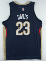 Anthony Davis Signed Pelicans Jersey (PSA Hologram) at PristineAuction.com