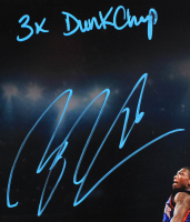 """Nate Robinson Signed Knicks 16x20 Photo Inscribed """"3x Dunk Champ"""" (Beckett COA) at PristineAuction.com"""