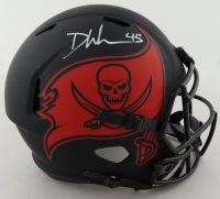 Devin White Signed Buccaneers Full-Size Eclipse Alternate Speed Helmet (Beckett COA) at PristineAuction.com