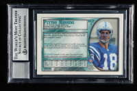 Peyton Manning Signed 1998 Bowman Chrome Preview #BCP1 (BGS Encapsulated) at PristineAuction.com