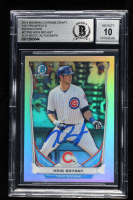 Kris Bryant Signed 2014 Bowman Chrome Draft Top Prospects Refractors #CTP62 (BGS Encapsulated) at PristineAuction.com