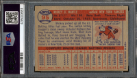 Mickey Mantle Signed 1957 Topps #95 (PSA Encapsulated) at PristineAuction.com