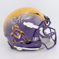 Randy Moss Signed Full-Size Authentic On-Field Hydro-Dipped Vengeance Helmet (Beckett COA) (See Description) at PristineAuction.com