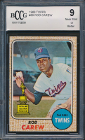 Rod Carew 1968 Topps #80 (BCCG 9) at PristineAuction.com