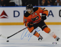 Claude Giroux Signed Flyers 11x14 Photo (PSA Hologram) at PristineAuction.com