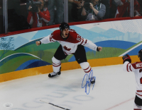 Sidney Crosby Signed Team Canada 11x14 Photo (JSA Hologram) (See Description) at PristineAuction.com