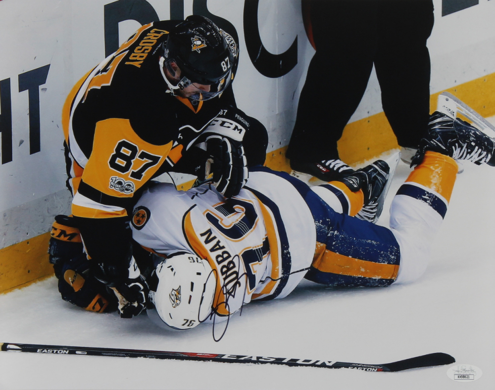 Sidney Crosby Signed Penguins 11x14 Photo (JSA Hologram) at PristineAuction.com