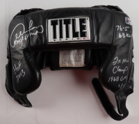 George Foreman Signed Ringside Headgear with Multiple Inscriptions (Foreman Hologram) at PristineAuction.com
