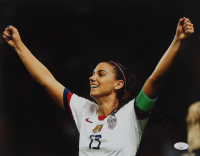 Alex Morgan Signed 11x14 Photo (JSA Hologram) at PristineAuction.com