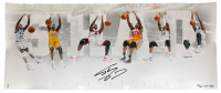 "Shaquille O'Neal Signed Lakers ""Shaq Attack"" 15x36 LE Photo (UDA COA) at PristineAuction.com"