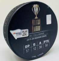 "Cale Makar Signed Avalanche ""2020 Calder Trophy Winner"" LE Hockey Puck (Fanatics Hologram) at PristineAuction.com"