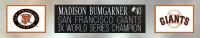 Madison Bumgarner Signed Giants 35x43 Custom Framed Jersey (PSA COA) at PristineAuction.com