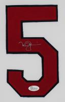 Mark McGwire Signed Cardinals 35x43 Custom Framed Jersey Display (JSA COA) at PristineAuction.com