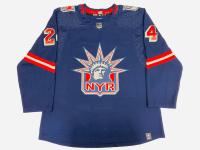 Kaapo Kakko Signed Rangers Jersey (Fanatics Hologram) at PristineAuction.com