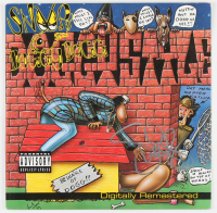"""Snoop Dogg Signed """"Doggystyle"""" Album Cover (JSA Hologram) (See Description) at PristineAuction.com"""