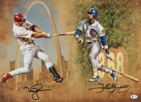 Mark McGwire & Sammy Sosa Signed 16x20 Photo (Beckett COA) at PristineAuction.com
