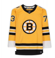 Charlie McAvoy Signed Bruins Jersey (Fanatics Hologram) at PristineAuction.com