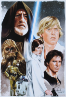 """Tony Santiago - The Rebels - """"Star Wars"""" 13x19 Signed Lithograph (PA COA) at PristineAuction.com"""