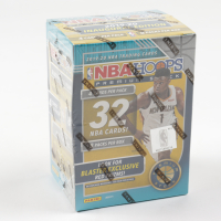 2019-20 NBA Hoops Premium Stock Basketball Blaster Box with (8) Packs (See Description) at PristineAuction.com