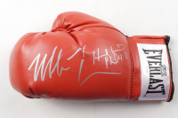Mike Tyson & Evander Holyfield Signed Everlast Boxing Glove (JSA COA & Fiterman Sports Hologram) at PristineAuction.com