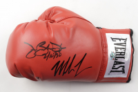 "Mike Tyson & James ""Buster"" Douglas Signed Everlast Boxing Glove Inscribed ""2-10-90"" (JSA COA & Fiterman Sports Hologram) at PristineAuction.com"
