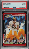 Tom Brady 2000 Score #316 RC (PSA 9) at PristineAuction.com